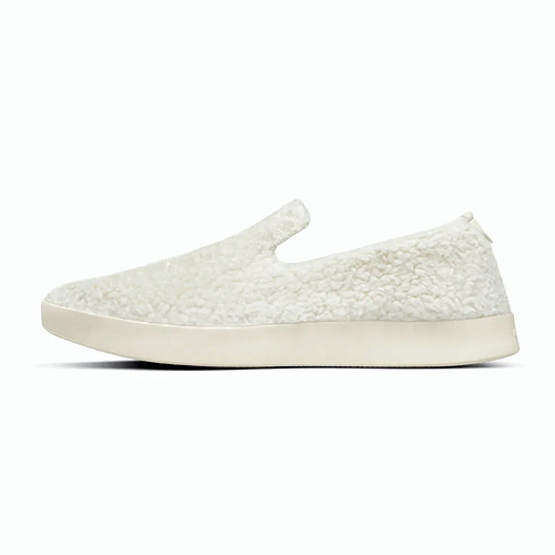 WF1MAWW_SHOE_LEFT_GLOBAL_MENS_WOOL_LOUNGER_FLUFF_NATURAL_WHITE_CREAM - Edited
