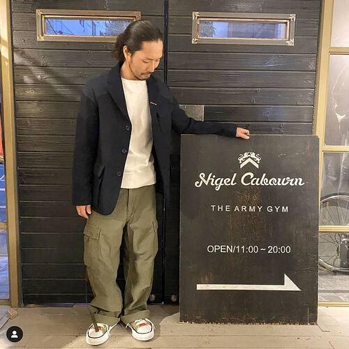 Nigel Cabourn AW19 Cargo pants